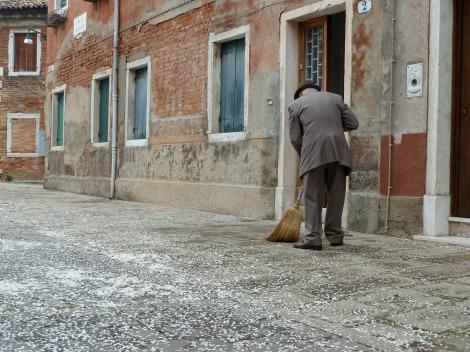 Murano street, Venice