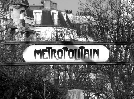 Metro  b&w
