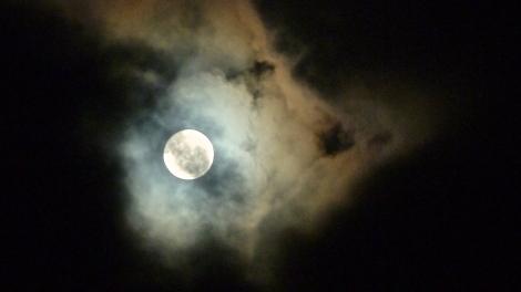 moon reflect