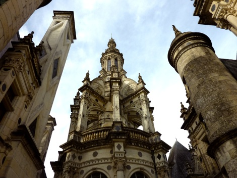 Chambord towers, France