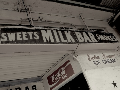 Summer Hill- antique milk bar