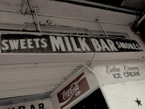 Summer Hill- antique milk bar