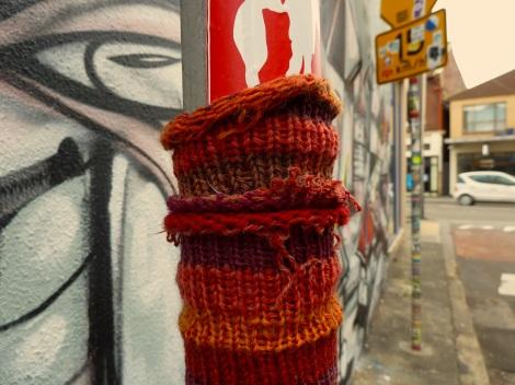 Enmore- guerilla knitting