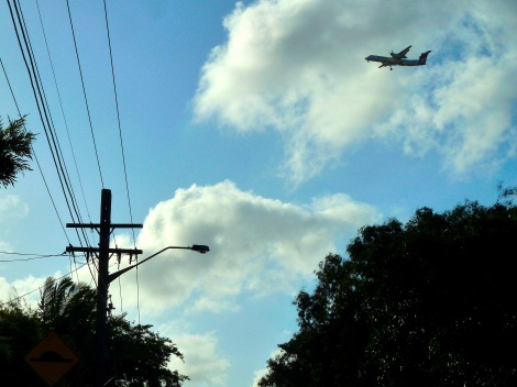 Stanmore- flight path
