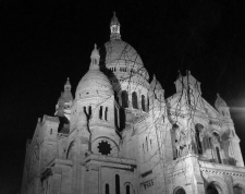 Sacre Coeur midnight