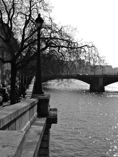 Seine, b&w