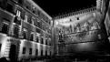 Sienna courtyard