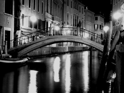 Venice late night