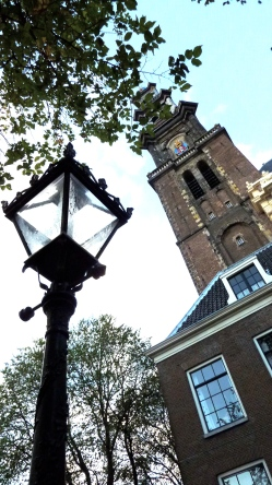 Westerkerk tower, Amsterdam, The Netherlands