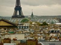 Paris rooftops, France