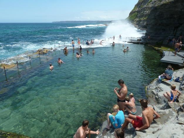 the popular ocean pool