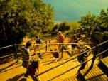 Corniglia stairs, Cinque Terri