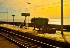Manarola railway station, Cinque Terre