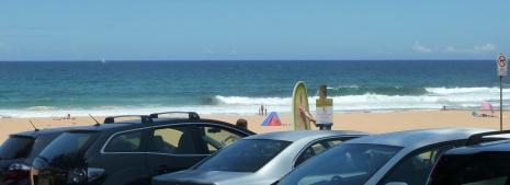 Carpark, Bilgola Beach