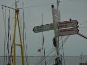 Volendam signpost, The Netherlands