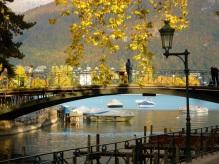 Annecy bridge, France