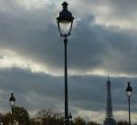 Eiffel Tower lamp posts, Paris