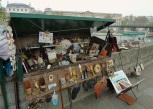 Seine River market stall