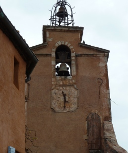 Roussillon - clock tower
