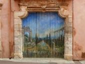 Roussillon -trompe l'oeil