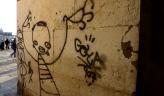 Laneway graffiti, Venice