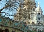 Sacre Coeur carousel, Paris