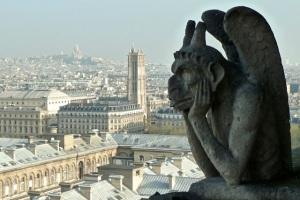 Notre Dame view, Paris