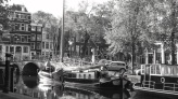 Sailing boat, Amsterdam