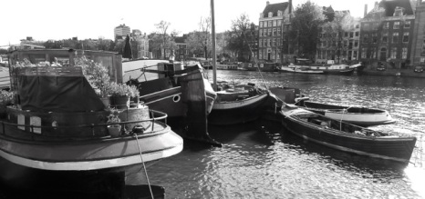 Amstel mooring, Amsterdam