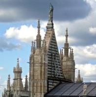 Rear church facade