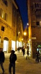 Evening stroll Siena, Italy