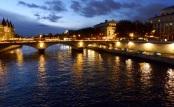 Evening, Seine River, Paris