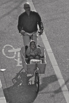Bakfiets, Amsterdam