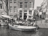 Canal cafe, Amsterdam