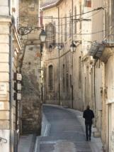 Narrow side street, Arles