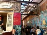 Cafe exterior interior