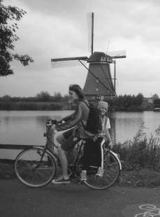 Kinderdijk bikeride, The Netherlands