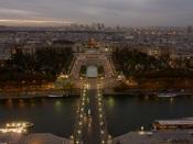 Eiffel view, Paris