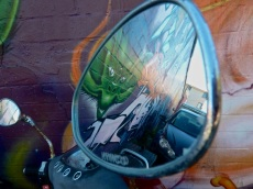 scooter mirror