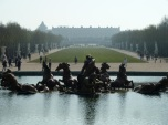 One kilometre-Versailles, France