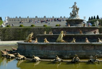 Fountain-Versailles, France