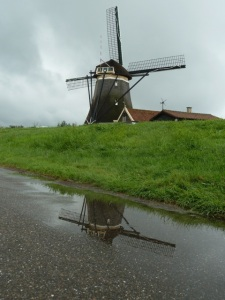 Four gang windmills, Sevenhuizen, The Netherlands