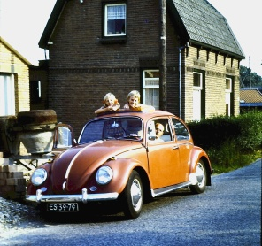 1973 vw bug, Netherlands