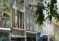 Paris - Rue Denoyez, Belleville