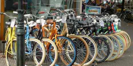 Delft, bike shop
