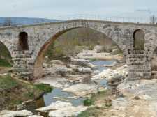 Pont Julien, near Bonnieux, France