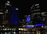 VIVID Sydney skyline Circular Quay