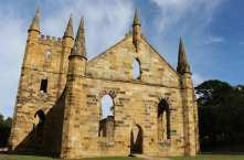 Convict church, Port Arthur, Tasmania