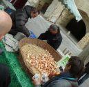 Uzzes market, France