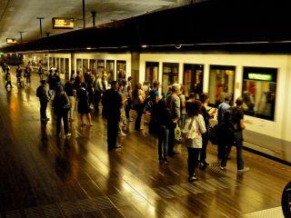 Den Haag tram station